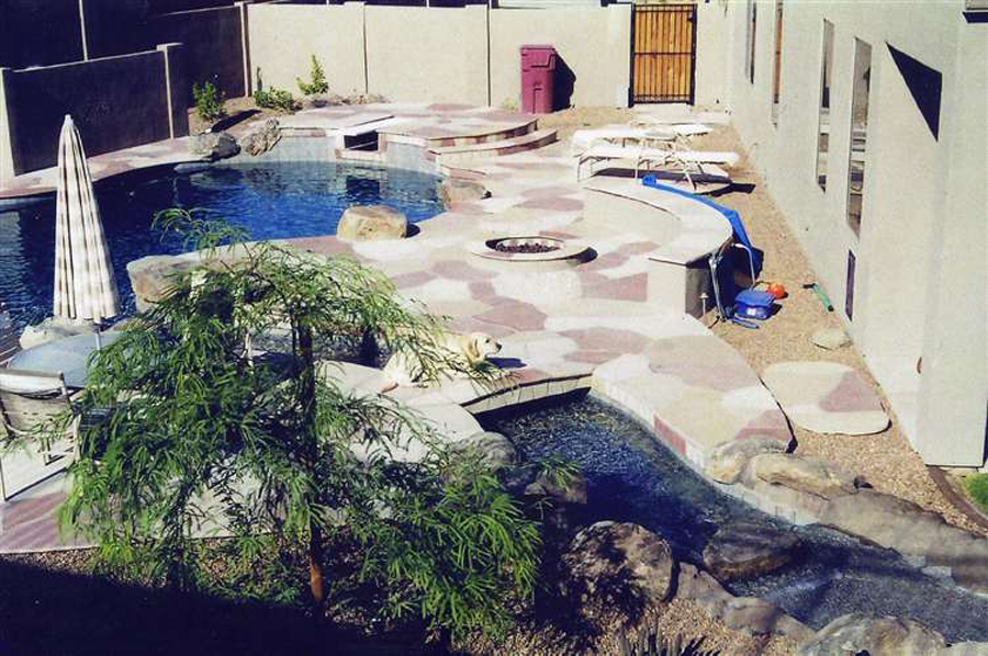 pool design coconut contracting backyard arizona
