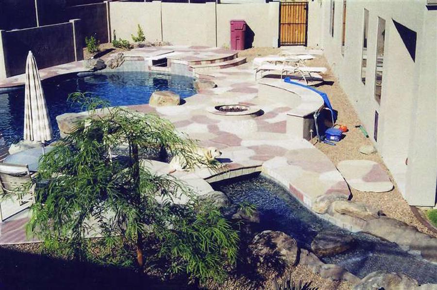 pool design coconut contracting backyard arizona